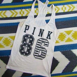 Pink Victoria's Secret Pink 86 Tank Top Size L